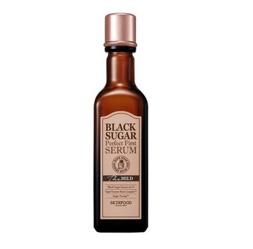 Skinfood Black Sugar – Perfect First Serum The Mild serum do twarzy z nierafinowanym cukrem trzcinowym (120 ml)
