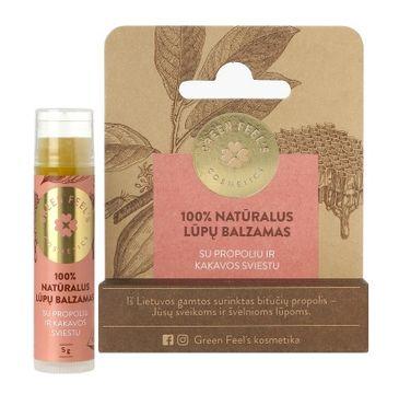 Green Feel's – Natural Lip Balm balsam do ust Propolis (5 g)