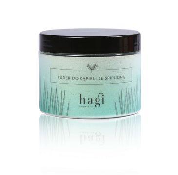 Hagi Cosmetics – Puder do kąpieli ze spiruliną (400 g)