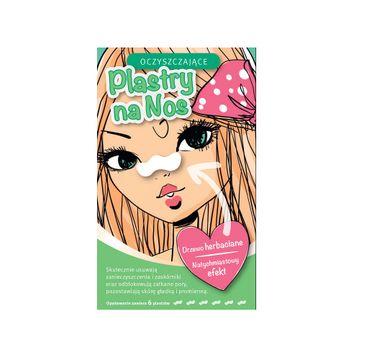 Skinlite Cleansing Nose Strips – oczyszczające plastry na nos Drzewo Herbaciane (6 szt.)