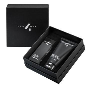 Unit4Men Zestaw barberski Citrus&Musk perfumowany olej do brody 30ml + perfumowany szampon do brody 100ml