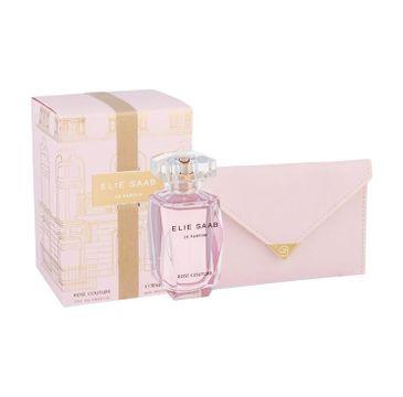 Elie Saab Le Parfum Rose Woman zestaw woda perfumowana spray 50ml + mini torebka