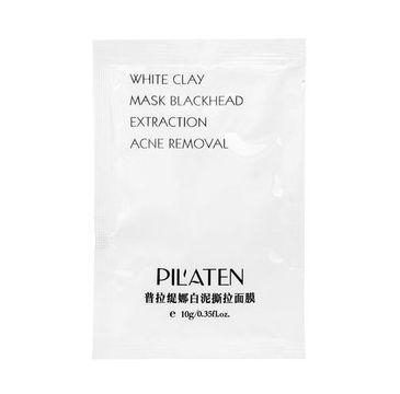 Pilaten – White Mask maska peel-off oczyszczająca z białą glinką (10 g)