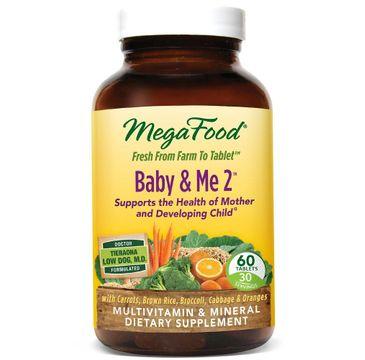 Mega Food Baby&Me 2 suplement diety dla kobiet w ciąży 60 tabletek