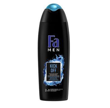 Fa Men – Kick Off 2in1 Bath And Shower żel pod prysznic do ciała i włosów dla mężczyzn Aqua Mint (750 ml)
