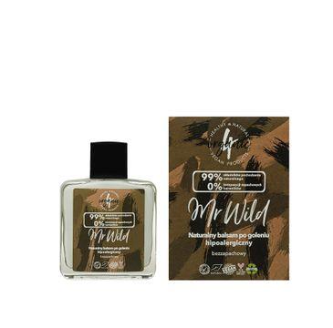 4organic Mr Wild naturalny balsam po goleniu hipoalergiczny bezzapachowy (100 ml)