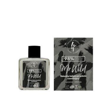 4organic Mr Wild naturalny balsam po goleniu nawilżający cyprysowo-imbirowy (100 ml)