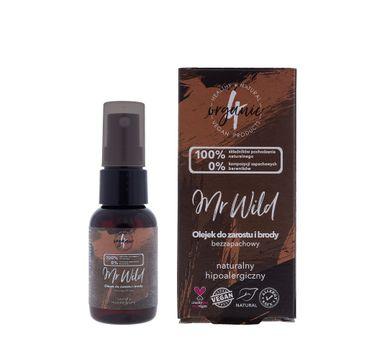4organic Mr Wild olejek do zarostu i brody bezzapachowy (30 ml)