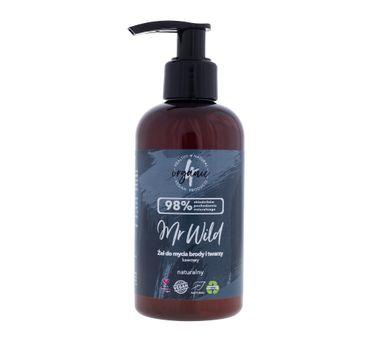 4organic Mr Wild żel do mycia brody i twarzy kawowy (200 ml)