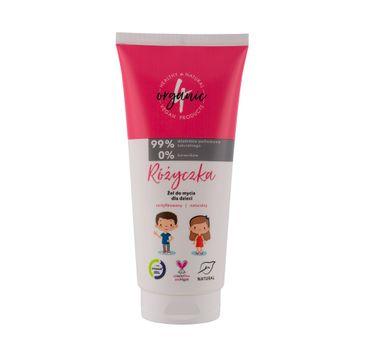 4organic Różyczka żel do mycia dla dzieci (200 ml)