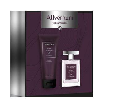 Allvernum – Men Zestaw prezentowy Pepper & Lavender woda perfumowana 100ml+żel pod prysznic 200ml (1 szt.)