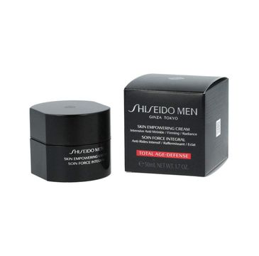 Shiseido – Men Skin Empowering Cream krem wzmacniający do cery zmęczonej (50 ml)