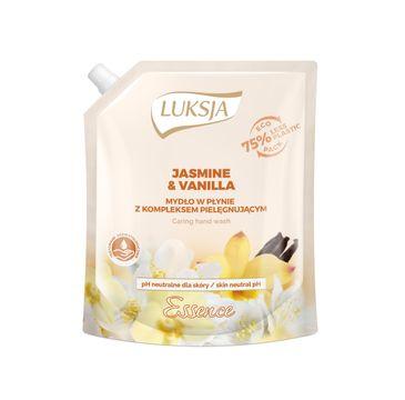 Luksja Essence – mydło w płynie Jasmine & Vanilla – wkład uzupełniający (900 ml)