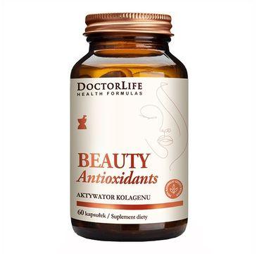 Doctor Life Beauty Antioxidants aktywator kolagenu suplement diety 60 kapsułek
