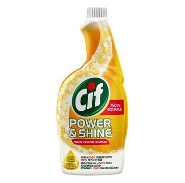 Cif – Power & Shine środek do czyszczenia przeciw tłuszczowi (750 ml )