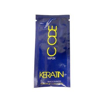 Stapiz Keratin Code Mask – maska do włosów z keratyną (10 ml)