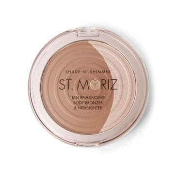 St.Moriz – Shade N' Shimmer Face & Body Bronze & Highlighter bronzer i rozświetlacz do twarzy i ciała (15 g)