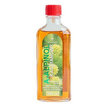 KOSMED A-alpinol – kasztanowy płyn rozgrzewająco-kojący do nóg (100 ml)
