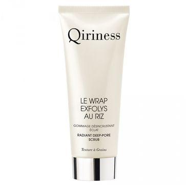 Qiriness – Le Wrap Exfloys Au Riz głęboko oczyszczający peeling o działaniu rozświetlającym (75 ml)