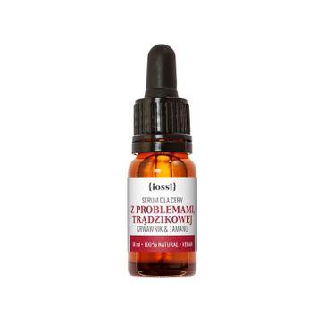 iossi Krwawnik & Tamanu serum dla cery z problemami i trądzikowej (10 ml)