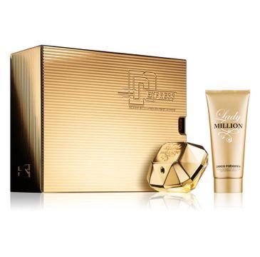 Paco Rabanne Lady Million zestaw woda perfumowana spray 80ml + balsam do ciała 100ml