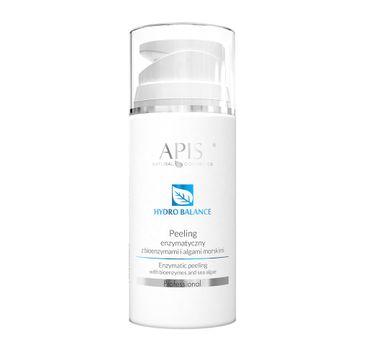 Apis Peeling enzymatyczny z bio enzymami i algami morskimi  Hydro Balance Enzymatic Scrub (100 ml)