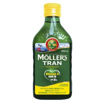 Möller's – Tran Norweski suplement diety Cytrynowy (250 ml)