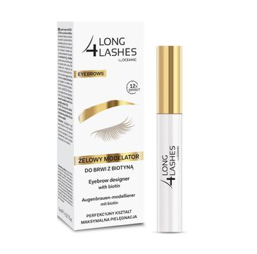 Long4Lashes – Eyebrow Designer żelowy modelator do brwi z biotyną (8 ml)
