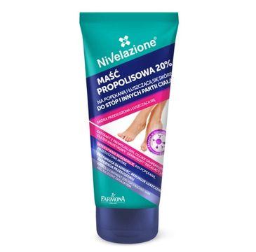 Nivelazione Stopy Maść propolisowa 20% na popękaną i łuszczącą się skórę (75 ml)