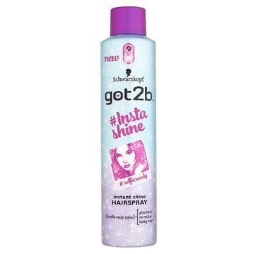 Got2B – Insta-shine Hairspray nabłyszczający lakier do włosów (300 ml)