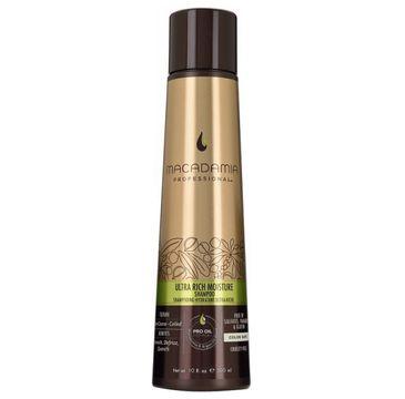 Macadamia Professional Ultra Rich Moisture Shampoo – nawilżający szampon do włosów grubych (300 ml)