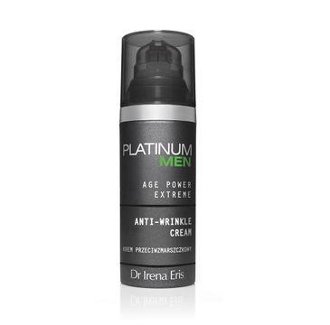 Dr Irena Eris Platinium Men Regenerating Cream – krem regenerujący do twarzy na dzień i na noc (50ml)