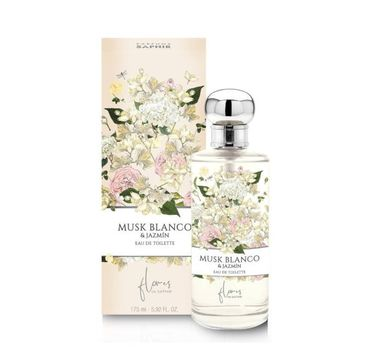 Flores de Saphir Musk Blanco & Jazmin – woda toaletowa spray (175 ml)