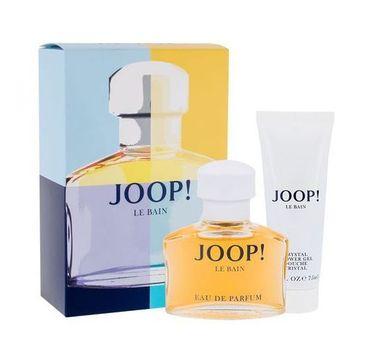 Joop! Le Bain zestaw woda perfumowana spray 40ml + żel pod prysznic 75ml