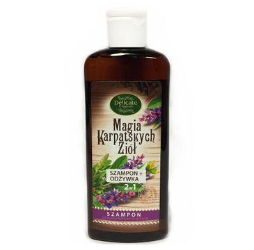 Delicate Organic Magia Karpackich Ziół szampon do włosów przetłuszczających się 250g