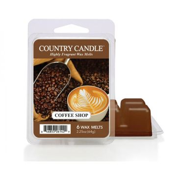 Country Candle – Wax wosk zapachowy Coffee Shop (64 g)