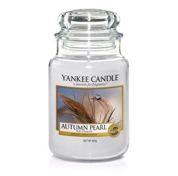 Yankee Candle – Świeca zapachowa duży słój Autumn Pearl (623 g)