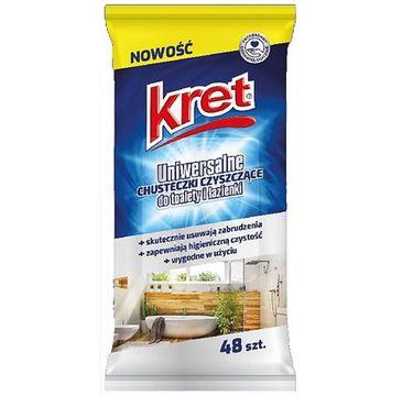 Kret –Chusteczki czyszczące uniwersalne (48 szt.)