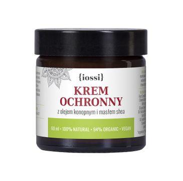 iossi – Krem Ochronny do twarzy i rąk z olejem konopnym i masłem shea (60 ml)