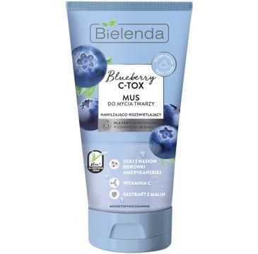 Bielenda –  Blueberry C-Tox Mus do mycia twarzy (135 g)