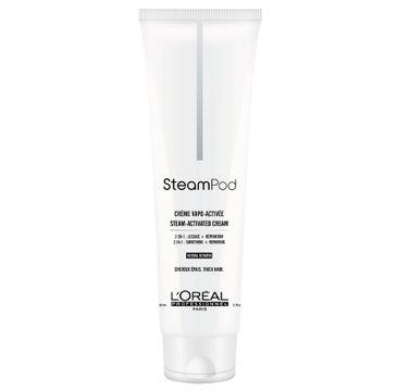 L'Oreal Professionnel – Steampod Smoothing Cream odbudowujący krem wygładzający do włosów grubych (150 ml)