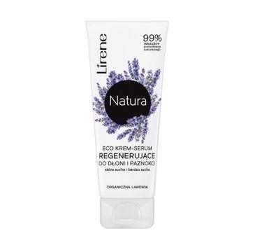 Lirene – Natura Eco krem-serum regenerujące do dłoni i paznokci Organiczna Lawenda (75 ml_