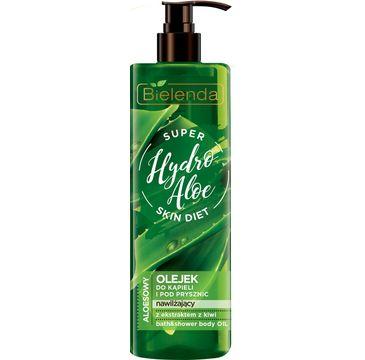 Bielenda Super Skin Diet Hydro Aloe (olejek do kąpieli i pod prysznic nawilżający 400 ml)