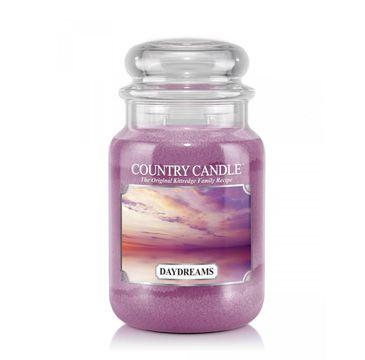 Country Candle – świeca zapachowa z dwoma knotami Daydreams (652 g)