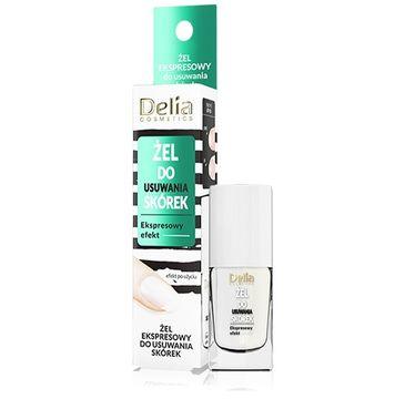 Delia – Cosmetics Żel ekspresowy do usuwania skórek (11 ml)