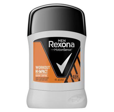 Rexona Men Workout Anti-Perspirant 48h – antyperspirant sztyft (50 ml)