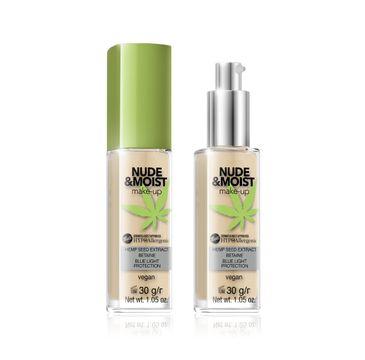 Bell Hypoallergenic Nude & Moist Podkład do twarzy nawilżająco-odżywczy nr 04 30 g