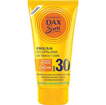 Dax Sun emulsja do opalania (do twarzy i ciała SPF 30 travel 50 ml)