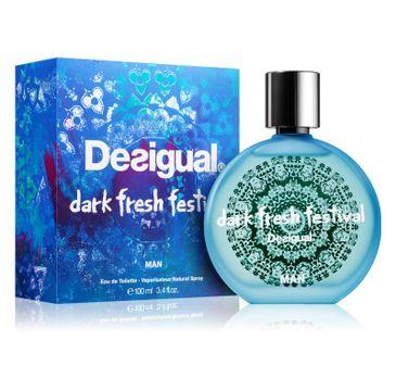 Desigual Dark Fresh Festival Man woda toaletowa spray 100ml