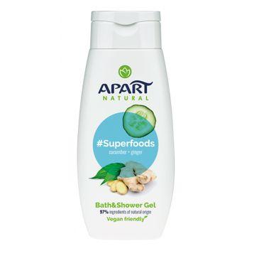 Apart Natural – Superfoods żel pod prysznic Ogórek i Imbir (300 ml)